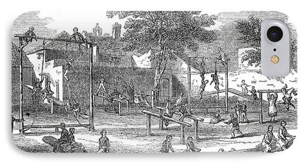London Playground, 1843 Phone Case by Granger