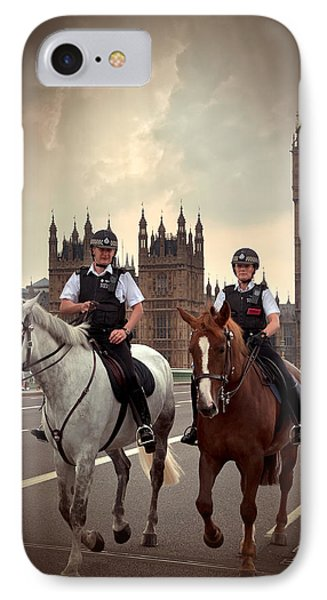 London Police Phone Case by Svetlana Sewell