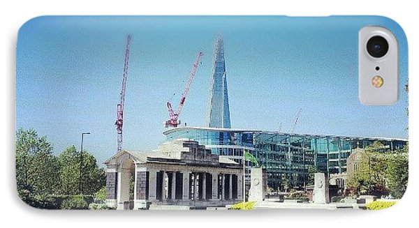 #london #uk #westminster #building IPhone Case by Abdelrahman Alawwad
