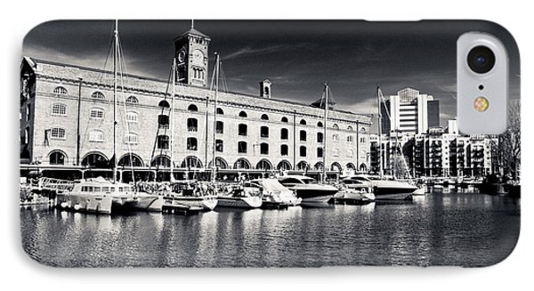 IPhone Case featuring the photograph London Yachts by Lenny Carter