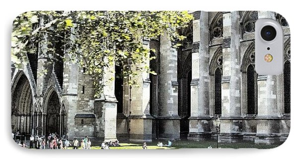 #london2012 #london #church #stone IPhone Case