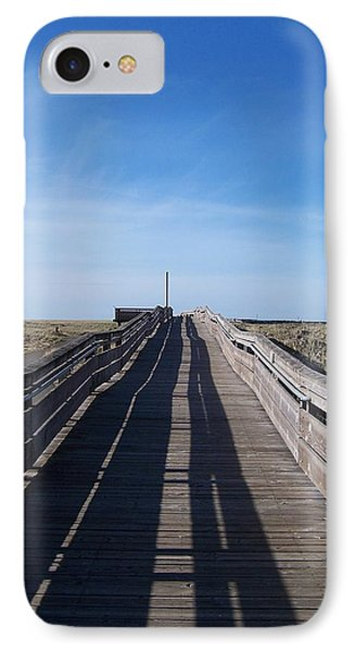 IPhone Case featuring the photograph Long Beach Boardwalk by Peter Mooyman