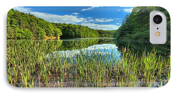 Long Branch Lake Marsh Phone Case by Adam Jewell