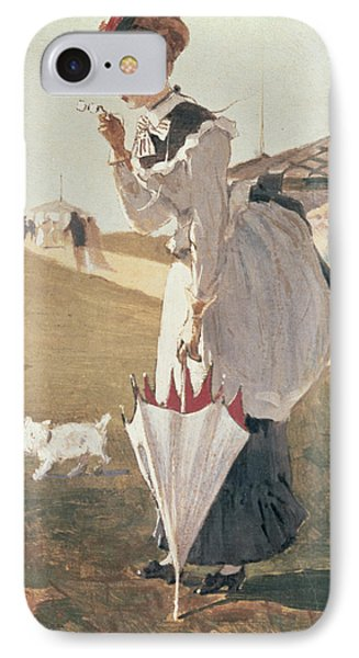 Long Branch Phone Case by Winslow Homer
