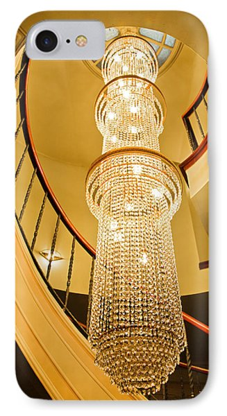 Long Chandelier Lights Up The