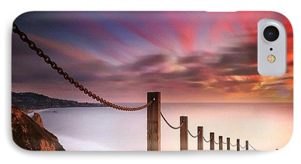 Long Exposure Sunset Shot From The IPhone Case by Larry Marshall