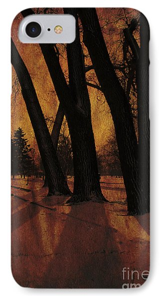 Long Shadows IPhone Case by Alyce Taylor
