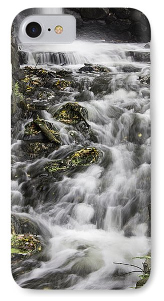 IPhone Case featuring the photograph Longfellow Grist Mill Waterfall by Betty Denise