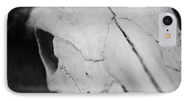 Longhorn Skull Phone Case by Julie VanDore