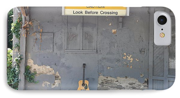 Look Before Crossing Phone Case by Bill Cannon