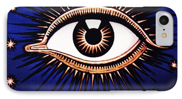 Look Em In The Eye Phone Case by Bill Cannon