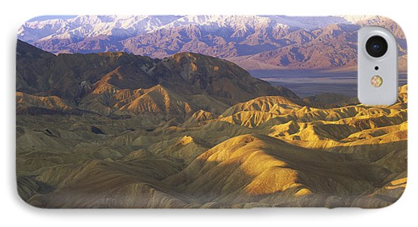 Looking At Panamint Range Phone Case by Tim Fitzharris