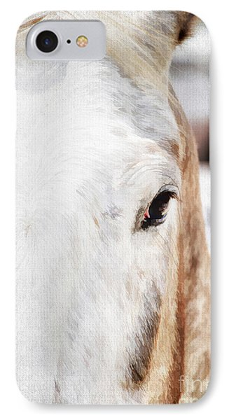Looking Into Her Soul Phone Case by Darren Fisher