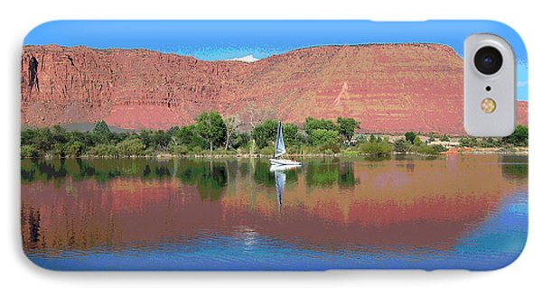 Reflections Of Ivins, Ut IPhone Case