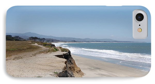 Looking Toward Half Moon Bay Phone Case by Carolyn Donnell