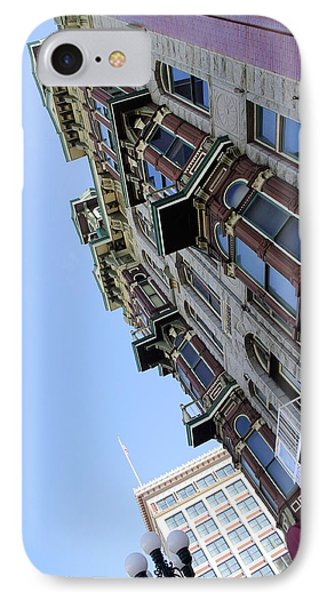 Looking Up From The Gaslamp Phone Case by John  Greaves