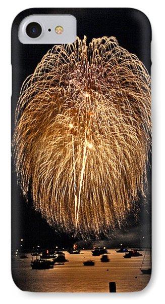 Lopez Island Fireworks 1 Phone Case by David Salter