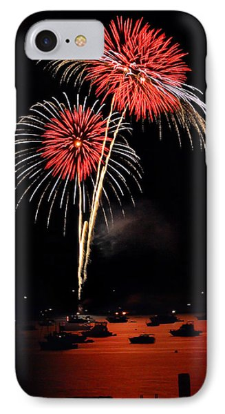 Lopez Island Fireworks 3 Phone Case by David Salter