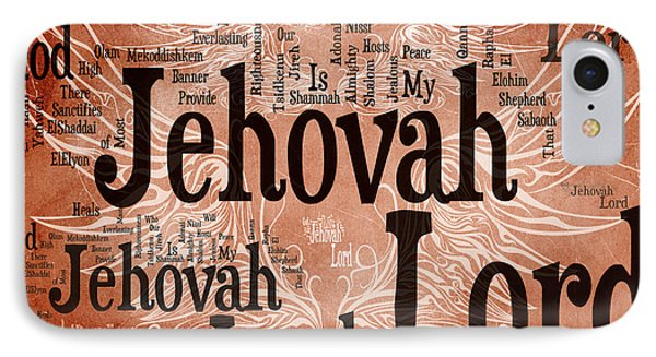 Lord Jehovah IPhone Case by Angelina Vick