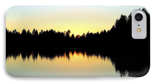 Lost Lagoon Sunset Phone Case by Will Borden