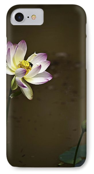 Lotus And Friend Phone Case by Rob Travis
