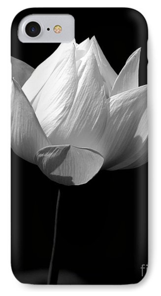Lotus Bw IPhone Case by Mark Gilman