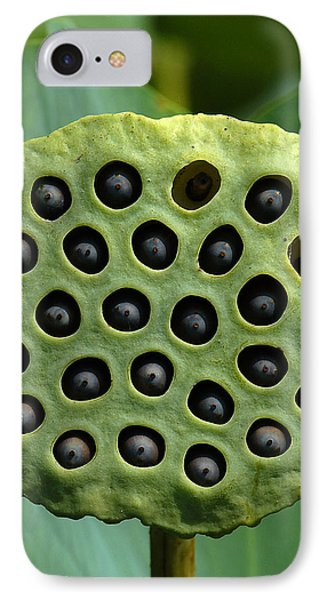 Lotus Capsule-missing Children Dl054 IPhone Case by Gerry Gantt