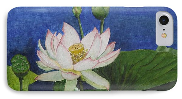 Lotus Flower Phone Case by Kim Selig
