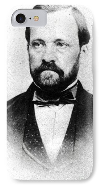 Louis Pasteur, French Chemist Phone Case by Science Source