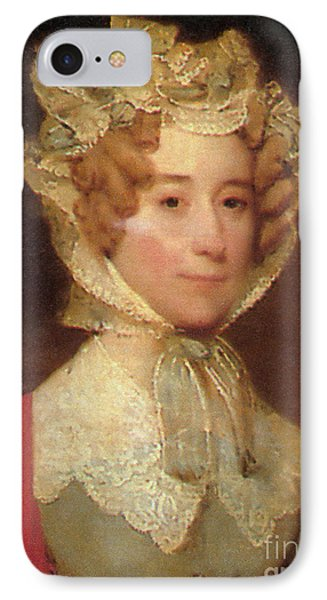 Louisa Adams Phone Case by Photo Researchers