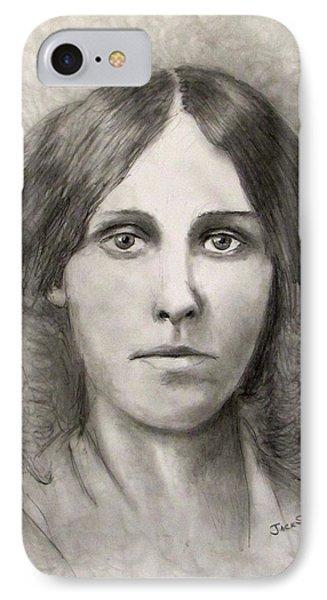 Louisa May Alcott IPhone Case