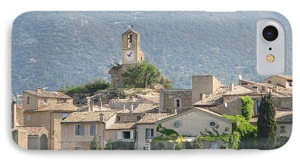 IPhone Case featuring the photograph Lourmarin In Provence by Carla Parris