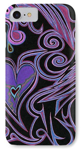 Love So Precious Phone Case by Kenneth James