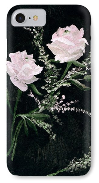 IPhone Case featuring the painting Lover's Dance by Joy Braverman