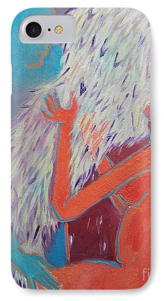 Loving My Angel Phone Case by Ana Maria Edulescu