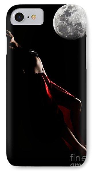 Low Key Portrait Phone Case by MotHaiBaPhoto Prints