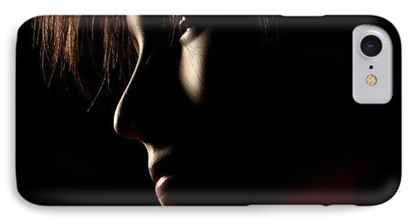 Low Light #portrait IPhone Case