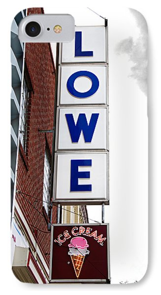 Lowe Drug Store Sign Color Phone Case by Andee Design