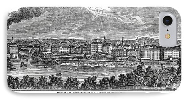Lowell: Factories, 1844 Phone Case by Granger