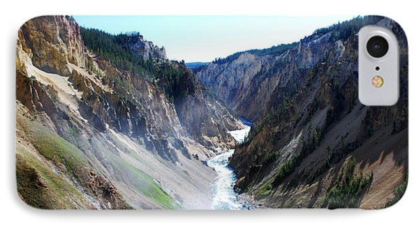 Lower Falls - Yellowstone IPhone Case by Dany Lison