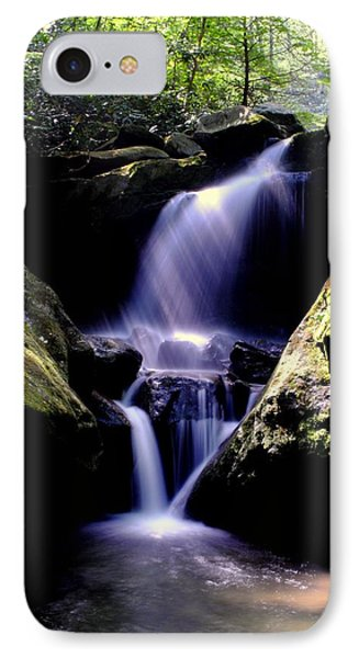Lower Grotto Falls Phone Case by Frozen in Time Fine Art Photography