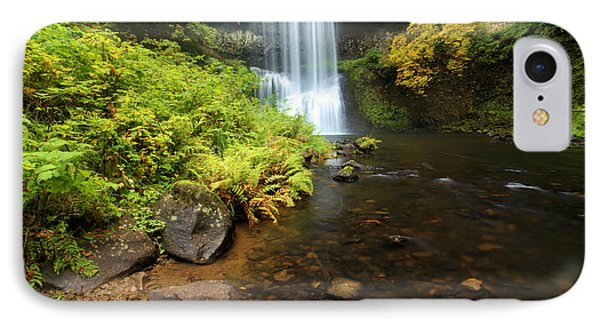 Lower South Falls Phone Case by Adam Jewell