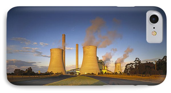 Loy Yang Power Station, Coal Burning Phone Case by Jean-Marc La Roque