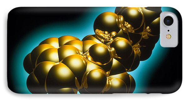 Lsd Drug Molecule Phone Case by Laguna Design