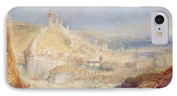 Lucerne From The Walls Phone Case by Joseph Mallord William Turner
