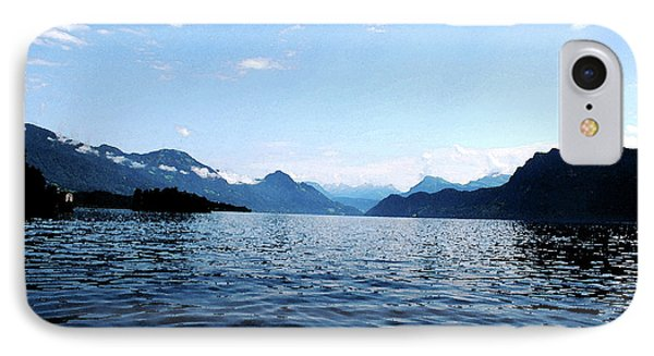 IPhone Case featuring the photograph Lucerne Lake by Pravine Chester