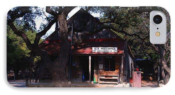 Luckenbach Texas - II Phone Case by Susanne Van Hulst