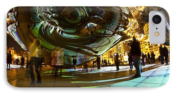 Luminous Light Show Under The Bean Phone Case by Sven Brogren