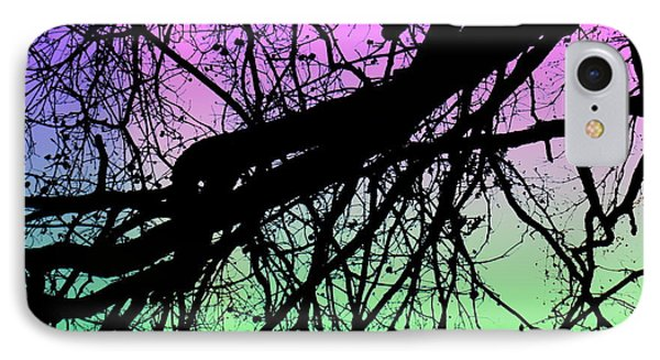 IPhone Case featuring the photograph Lunar Silhouette by Amy Sorrell