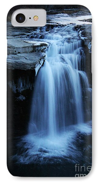 IPhone Case featuring the photograph Lundbreck Falls by Alyce Taylor
